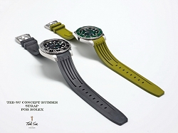 New Concept Rubber strap for Rolex